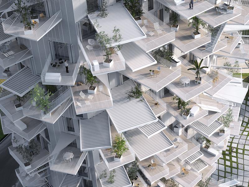©Sou fujimoto architects / NL*A Paris / Oxo architects