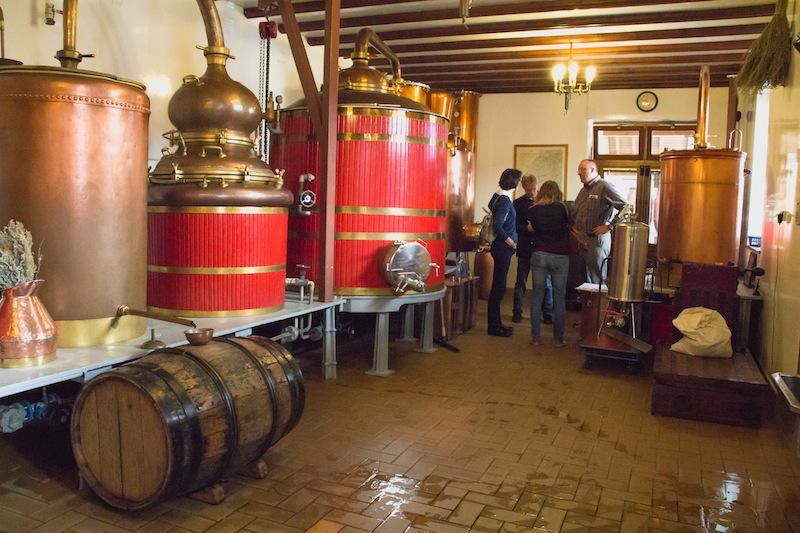 La distillerie Pierre Guy, à Pontarlier © Doubs Tourisme/Elodie Faivre - www.doubs.travel