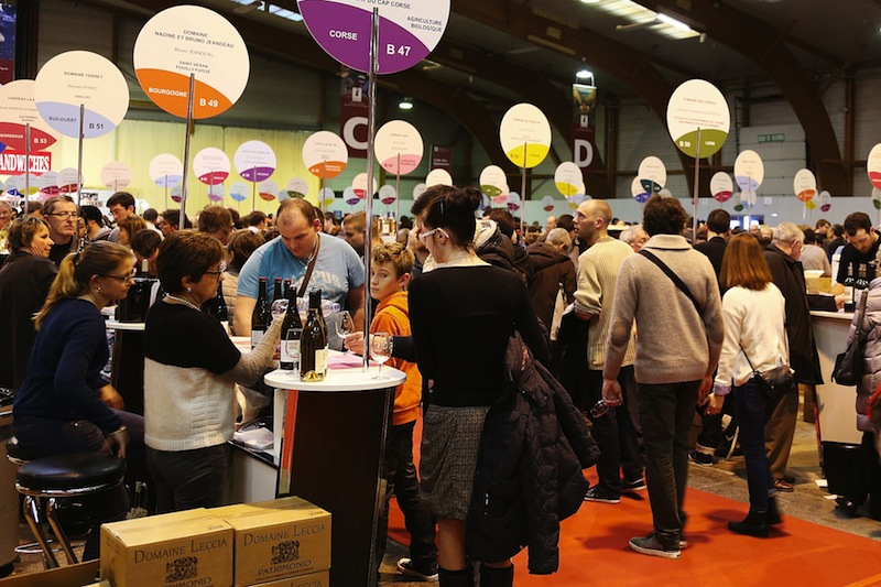Salon des vignerons ind pendants rennes for Salon 2018 france