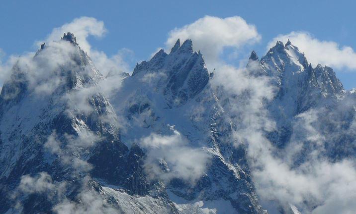 Aiguilles de Chamonix © DR