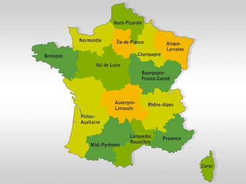 Schéma possible de réorganisation territoriale.