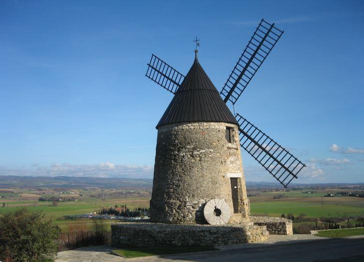 Moulin de Cugarel - Castelnaudary © DR