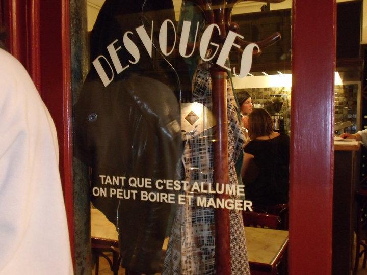 © Restaurant Desvouges